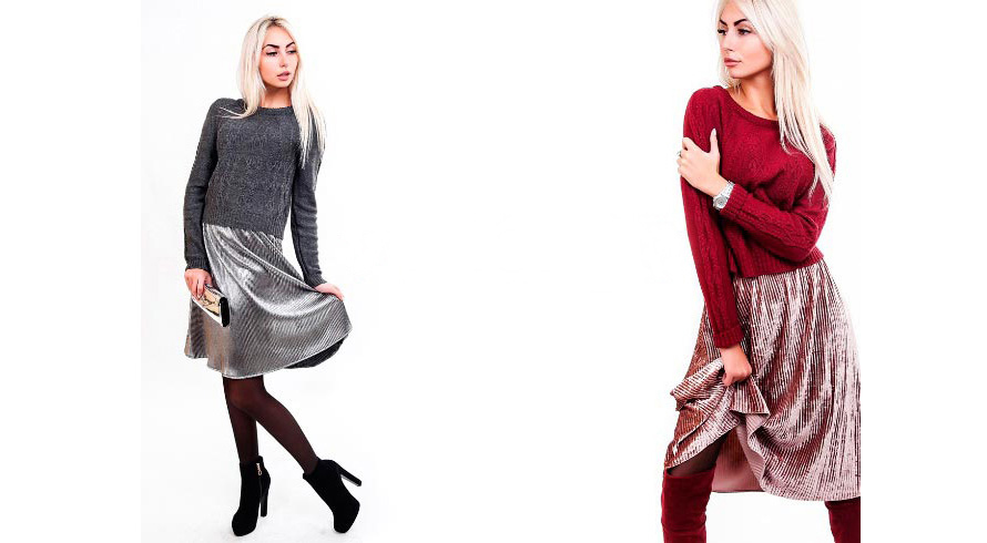 Как у Монро: юбки-плиссе снова в моде