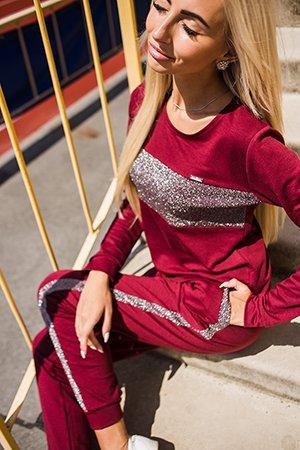 Модный спортивный костюм с люрексом - бренд Arjen
