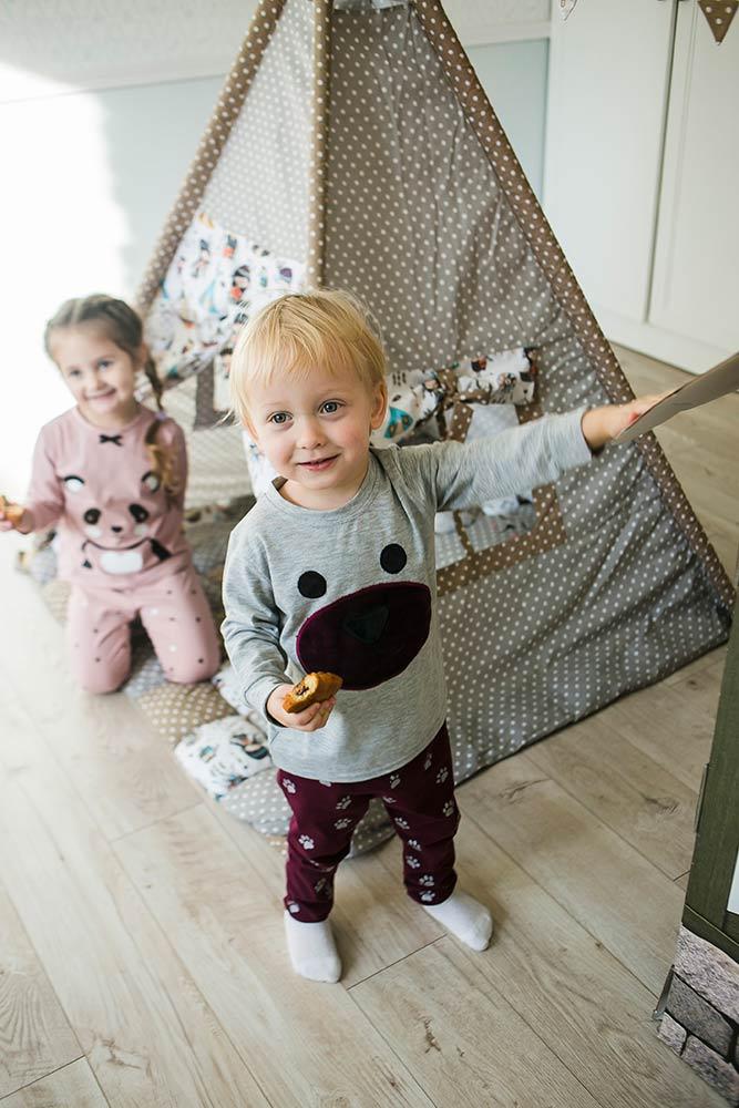 Детские пижамы для мальчиков и девочек от производителя Аржен