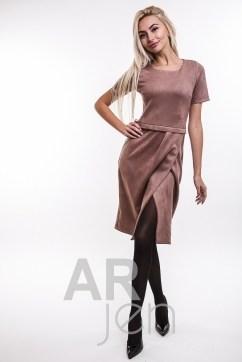 Купить замшевое платье недорого в интернет магазине «Аржен» 01bfb79d16dd3