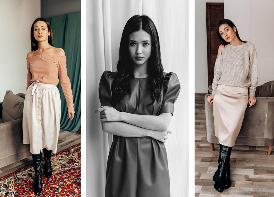 Модные женские образы для свидания. Бренд Аржен