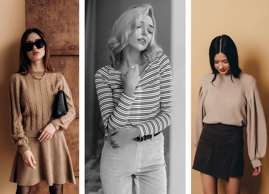 Красивая женская одежда на зиму - мода от Аржен
