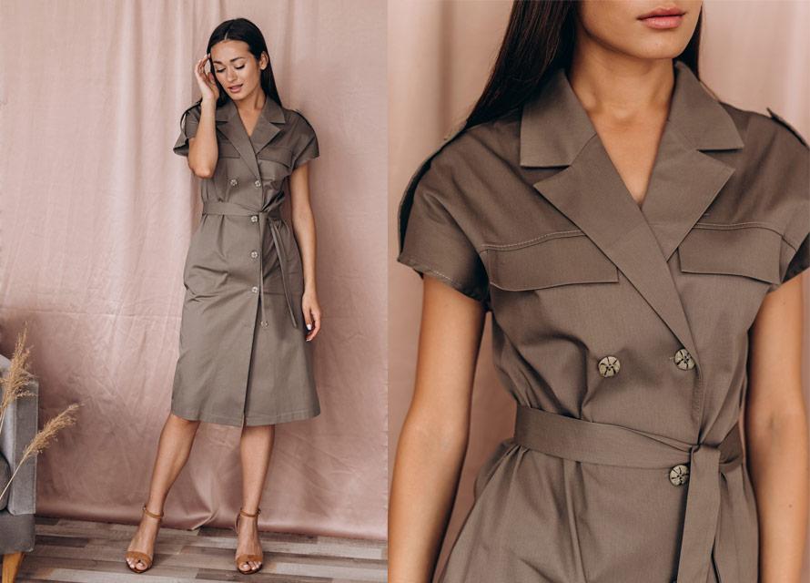 Модное платье для офиса - тренды Arjen