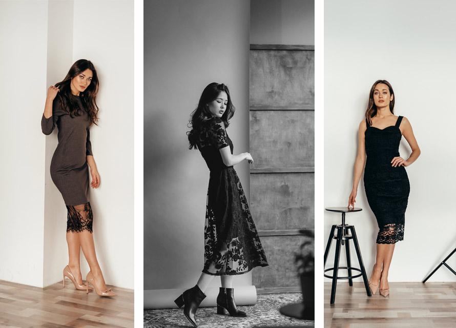 Вечерние платья с кружевом от производителя Аржен