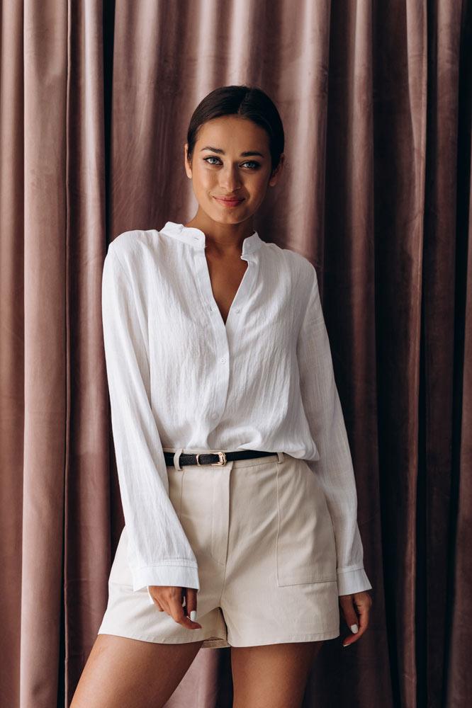 Женские шорты для офиса - модный образ от Аржен