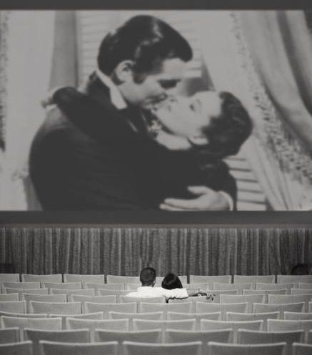 Черно-белое кино - картинка. Романтические фото