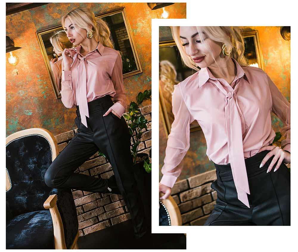 Женская рубашка и брюки для офиса в Украине