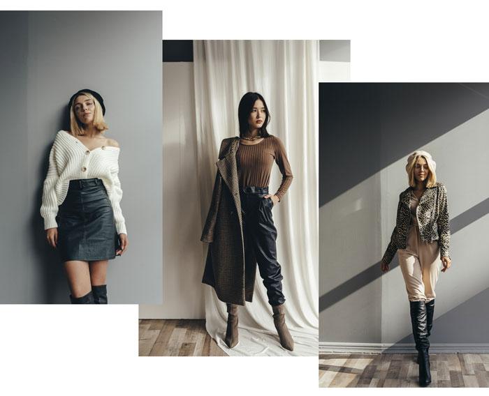 Кожаная одежда Аржен - мода 2019-2020