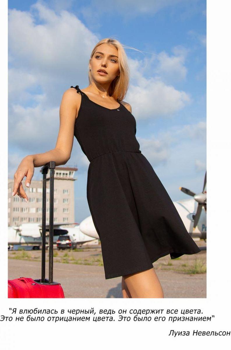 элегантное черное платье фото Аржен