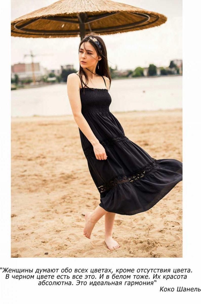 черное платье для девушек в интернет-магазине Аржен