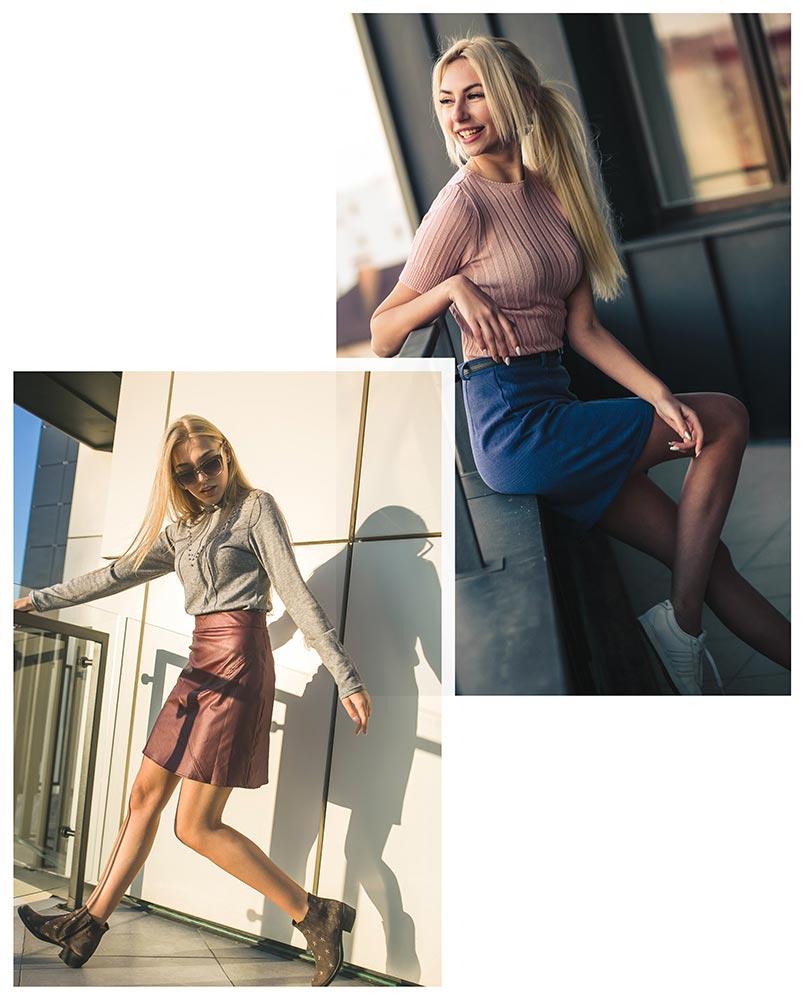 Женственные образы с юбками в интернет магазине Аржен