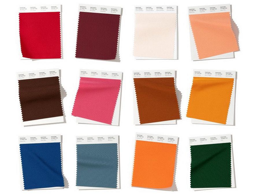 Модные цвета 2019 - 2020 Pantone