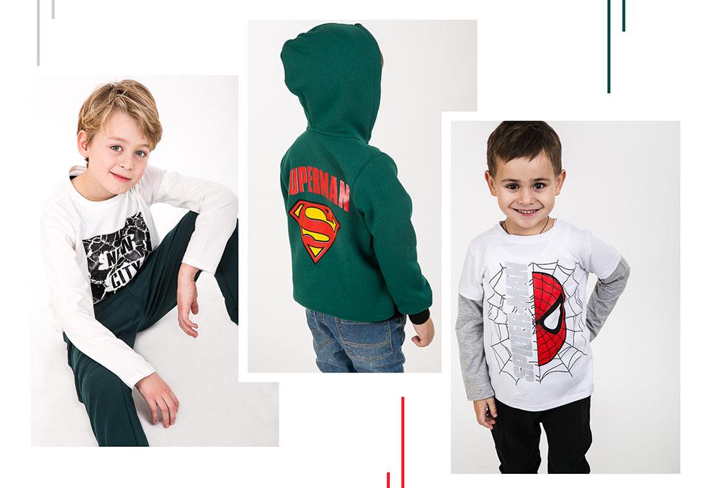 Модная детская одежда с принтами. Бренд Arjen