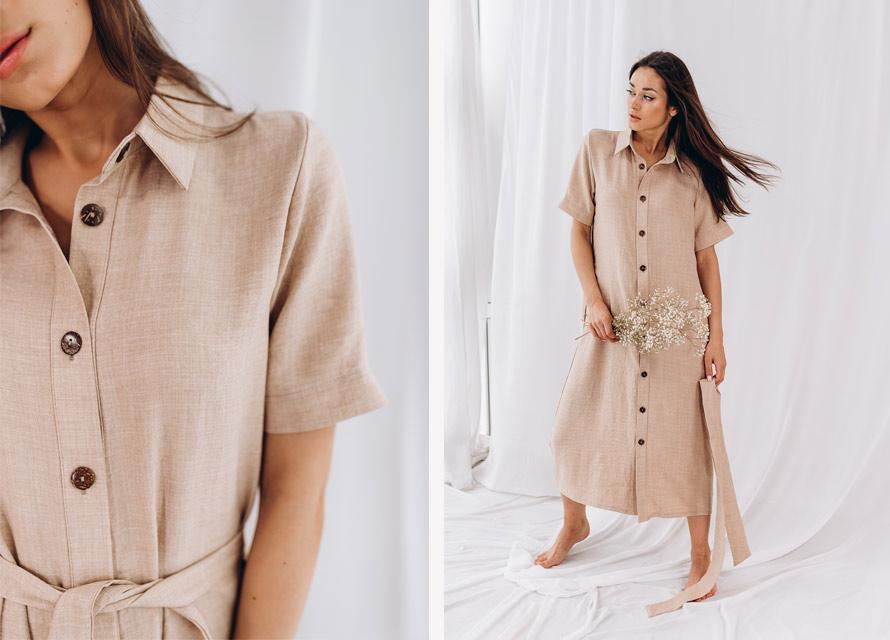 Мода 2020 - летнее платье-миди от производителя Аржен