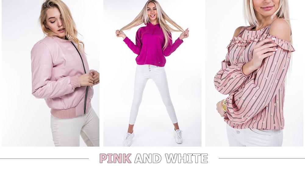 Как сочетать розовый и белый цвета фото Аржен