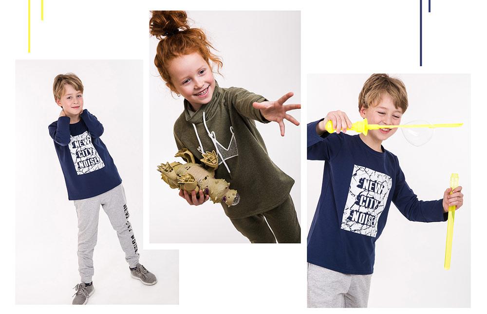 Модные спортивные костюмы для детей. Производитель Аржен