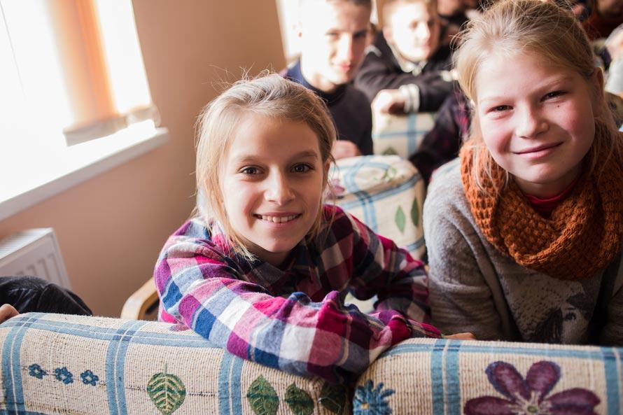 Девочки из детдома с. Антонины, Хмельницкая область