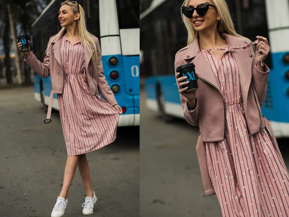 Цветочные платья с чем носить фото