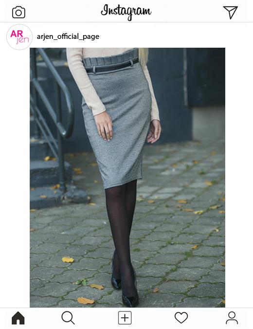 Фото юбки миди от производителя Arjen