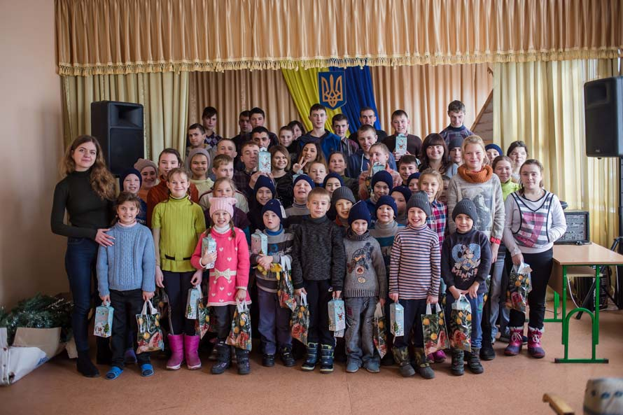 Праздник для детей от команды Аржен удался
