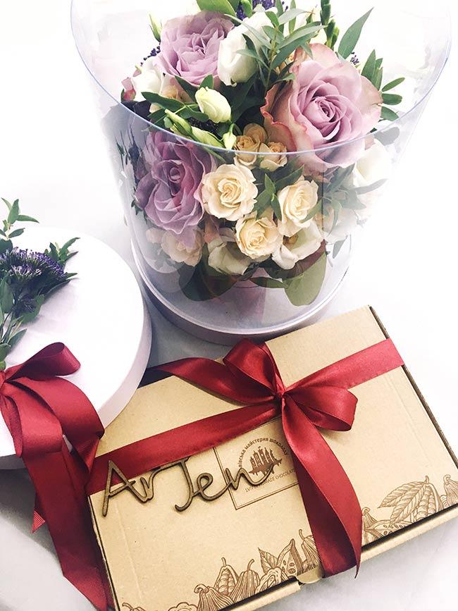 Цветы для нашей Евгении Викторовны