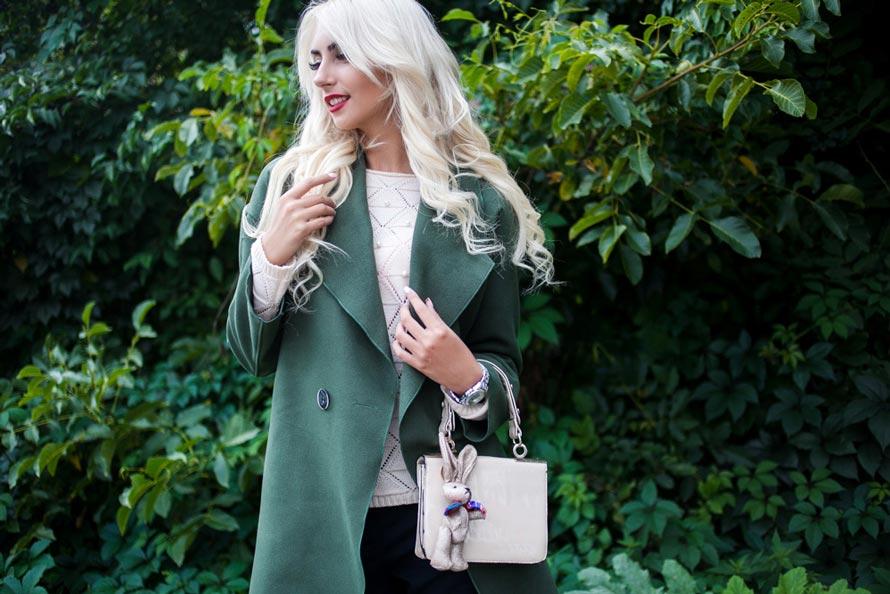 Пальто хаки тренд сезона от производителя женской одежды Аржен