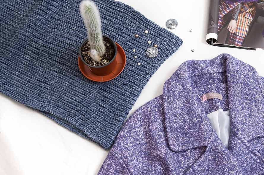 Пальто женское - модный лук фото