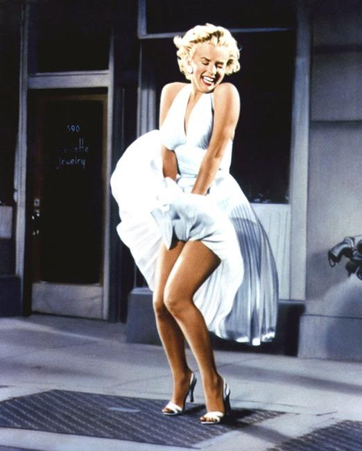 Мэрилин Монро в платье картинка