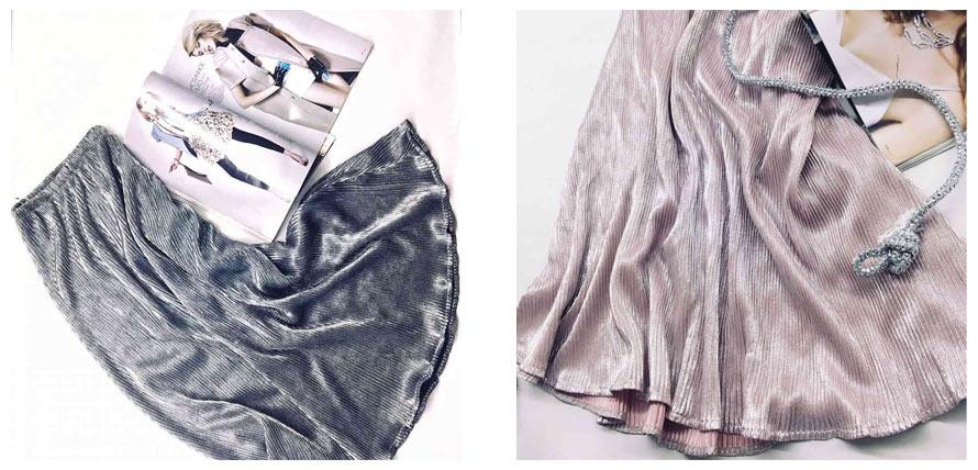 Модные юбки плиссе от Аржен - фото