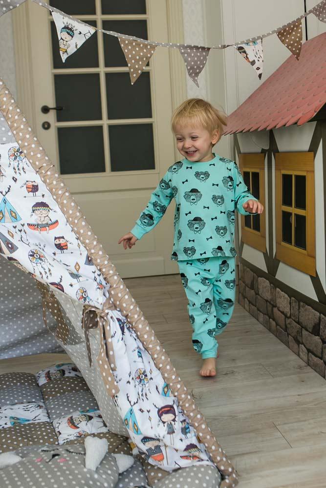 Детские пижамы для мальчиков и девочек