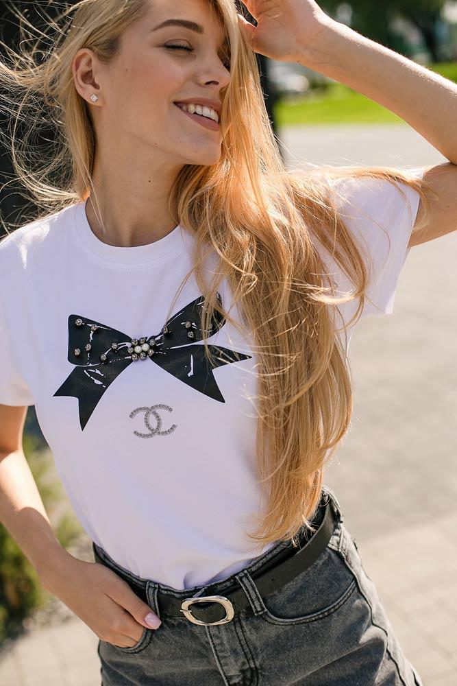 Женские футболки с принтом | фото