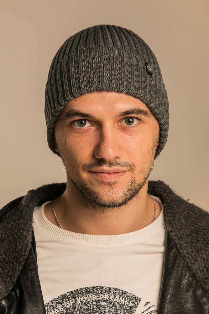 Теплые мужские шапки