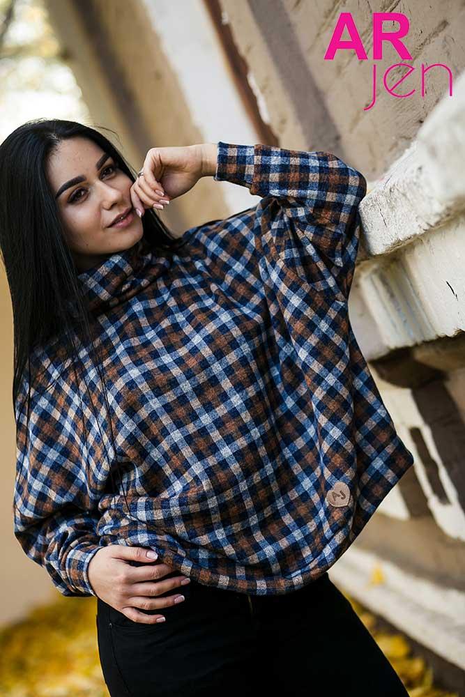 725cc5827b5 Купить модную женскую кофту большого размера недорого в Украине. Модные женские  кофты больших размеров