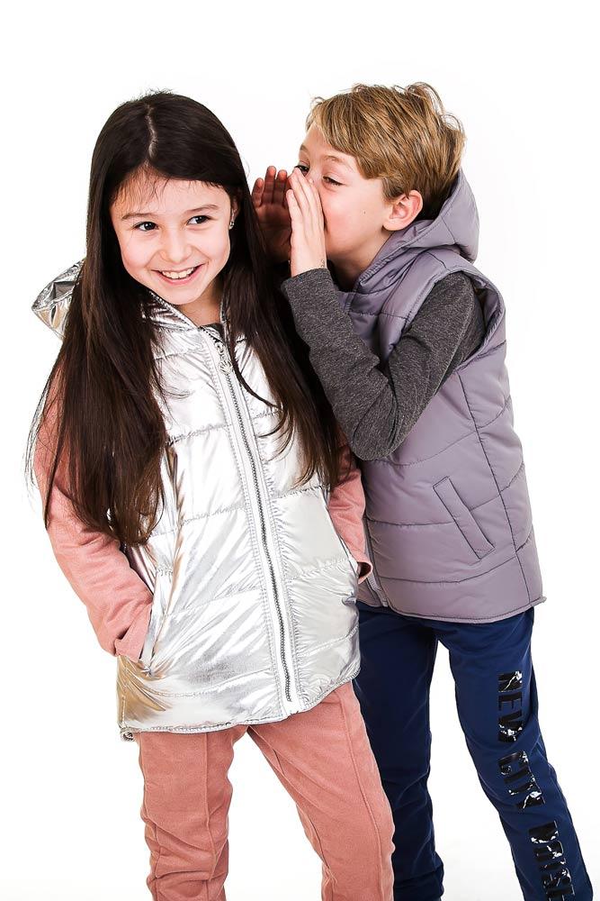 Модные детские жилетки   фото