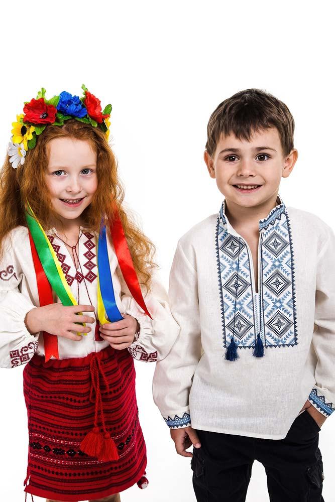 Детские вышиванки оптом - фото