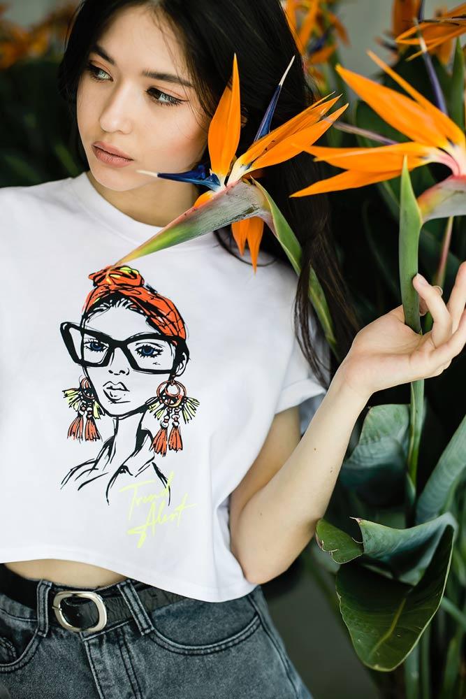 Женские футболки оптом - фото